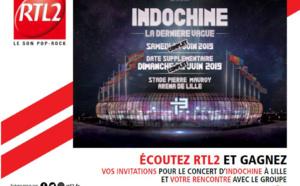 RTL2 : campagne TV à l'occasion du partenariat avec Indochine