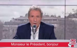 Jean-Jacques Bourdin adresse un message à Emmanuel Macron