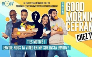 "Mouv' : la matinale ""Good Morning Cefran"" chez un auditeur"