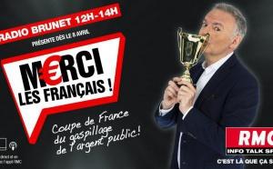 Eric Brunet lance la Coupe de France du gaspillage d'argent public