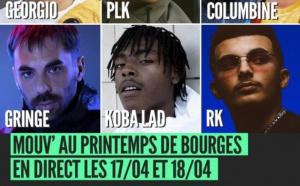 Mouv' en direct du Printemps de Bourges les 17 et 18 avril