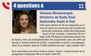 Flashback en 2011 - 4 questions à Vanessa Monsenergue, Directrice de Radio Vinci Autoroutes Ouest et Sud