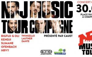 Le NRJ Music Tour arrive à Compiègne