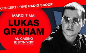 Lukas Graham, en concert privé Radio Scoop