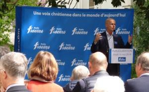 François de La Soujeole, président de Radio Fidélité, hier à Nantes