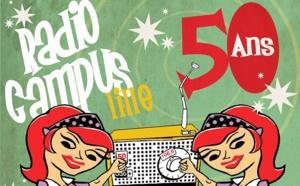 Radio Campus Lille fête ses 50 ans