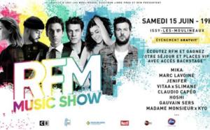 Le RFM Music Show revient à Issy-les-Moulineaux