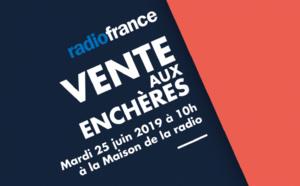 Nouvelle vente aux enchères à Radio France