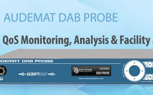 WorldCast Systems : une nouvelle version de l'Audemat DAB Probe