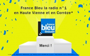 France Bleu Limousin gagne en part d'audience