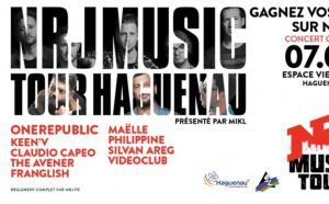 """Le """"NRJ Music Tour"""" revient à Haguenau"""