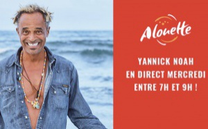 Alouette reçoit le chanteur Yannick Noah