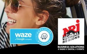 NRJ Global Régions signe un accord avec Waze France