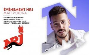 Matt Pokora en showcase avec NRJ