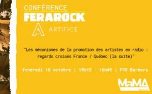 Une conférence Ferarock et Artifice au Mama Festival