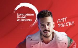 "Matt Pokora en ""concert super privé"" avec Chérie FM"