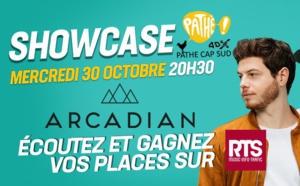 RTS : un concert privé avec Arcadian