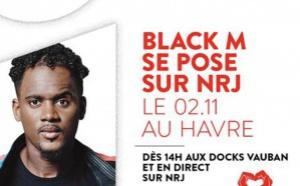 Le chanteur Black M au Havre avec NRJ