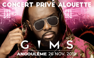 Gims en concert privé avec Alouette