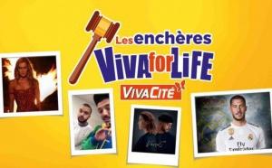 """VivaCité : une vente aux enchères au profit de """"Viva for Life"""""""