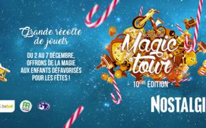 """Le """"Nostalgie Magic Tour"""" récolte des jouets"""