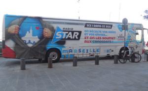 Radio Star et CI Media vont sillonner les rues de Marseille pour les municipales