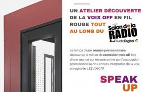 Salon de la Radio : une animation pour découvrir la voix off