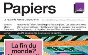 "Parution de ""Papiers"", la revue de France Culture"