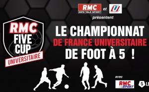 """RMC lance la 5e édition de la """"RMC Five Cup Universitaire"""""""