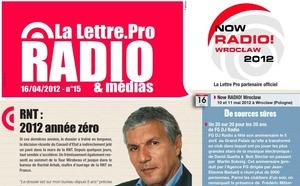 La Lettre Pro de la Radio n° 15 est disponible