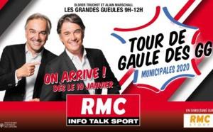 RMC : les Grandes Gueules partent en tournée