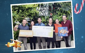 """Nostalgie Magic Tour"" : 15 000 euros de dons"