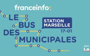 """franceinfo : """"Le bus des municipales"""" à Marseille"""