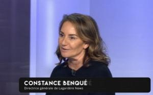 """Constance Benqué évoque une """"reconquête de l'audience"""""""