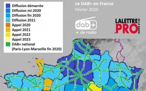 Le DAB+ étend sa toile jusqu'en 2023