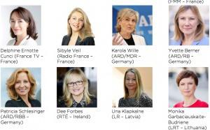 La place des femmes dans les médias en Europe