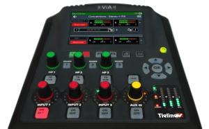 Tieline lance un nouveau micrologiciel pour le codec ViA