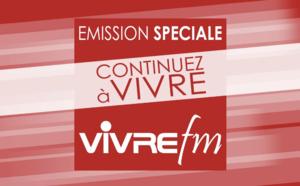 """Covid-19 : """"Continuez à vivre"""" avec Vivre FM"""