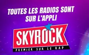 Skyrock est la radio musicale la plus écoutée à Paris