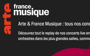 Covid-19 : ARTE et France Musique proposent 40 concerts gratuits