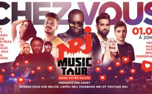 """Le """"NRJ Music Tour dans ton salon"""" a réuni l'équivalent de 20 Stades de France"""