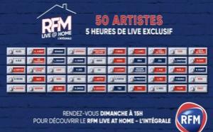 """Covid-19 : """"RFM Live @ Home"""" en version intégrale, ce dimanche"""