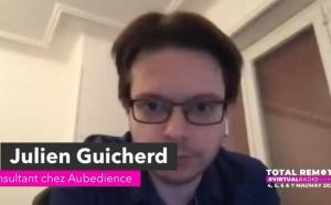 """Julien Guicherd (Aubedience) : """"beaucoup de gens ont redécouvert la radio"""""""