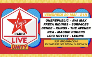 "Virgin Radio prépare son ""Virgin Radio Live Unity"""