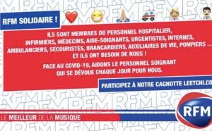 RFM : 23 000 € récoltés pour les personnels soignants