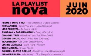 Radio Nova diffuse, chaque mois, plus de 1 500 titres différents
