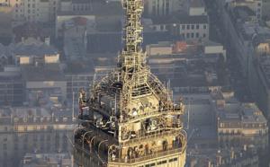 TDF : des travaux de maintenance sur la Tour Eiffel