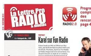 La Lettre Pro de la Radio n° 26 paraîtra Jeudi matin pour le RADIO 2.0