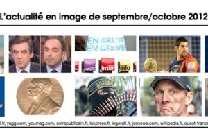 L'actualité sur la période septembre/octobre 2012