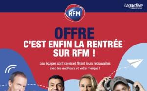 Lagardère Publicité News célèbre la rentrée sur RFM et Virgin Radio